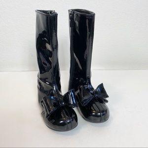 Joyfolie Elery in Black Patent Boots size 7
